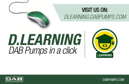 The D.Learning is the new DAB web platform that gives you total control of your own training.