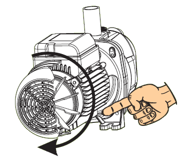 Europro high flow motor rotation direction