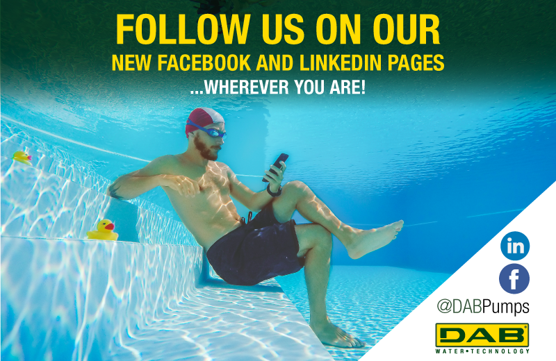 Follow our new social network official pages