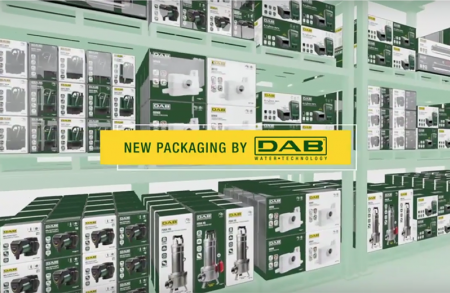 DAB products will wear a new packaging