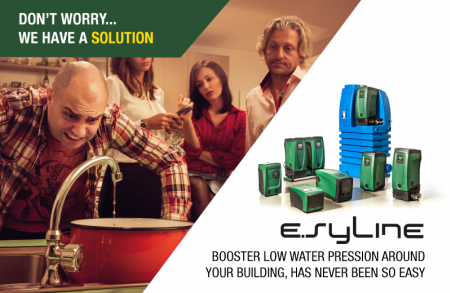 e.syline the complete line of electronic booster pump solutions