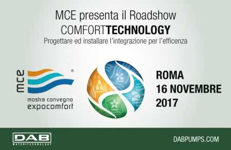 DAB Pumps in Rome for Roadshow MCE Comfort Technology