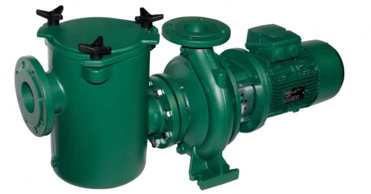 Prefilter with pump